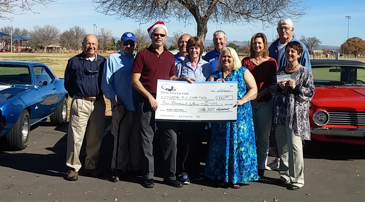 SVCC Donating to local Charities